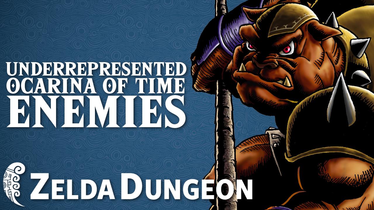 Underrepresented Classic Enemies in Ocarina of Time - Hyrule Compendium