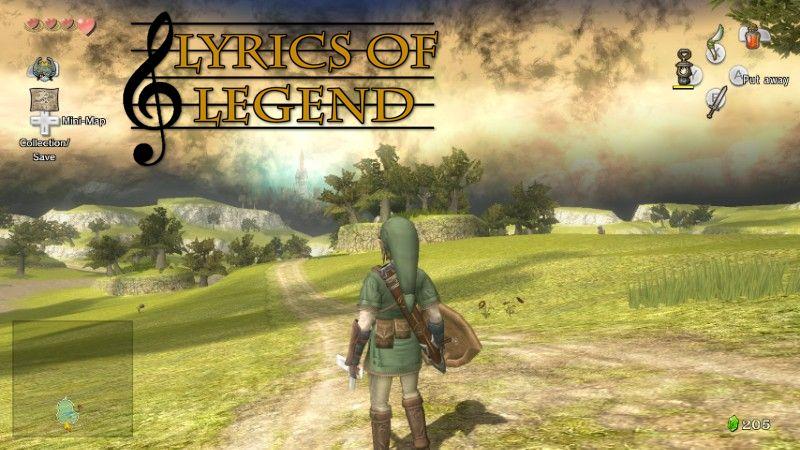 Lyrics Of Legend Hyrule Field Twilight Princess Zelda Dungeon