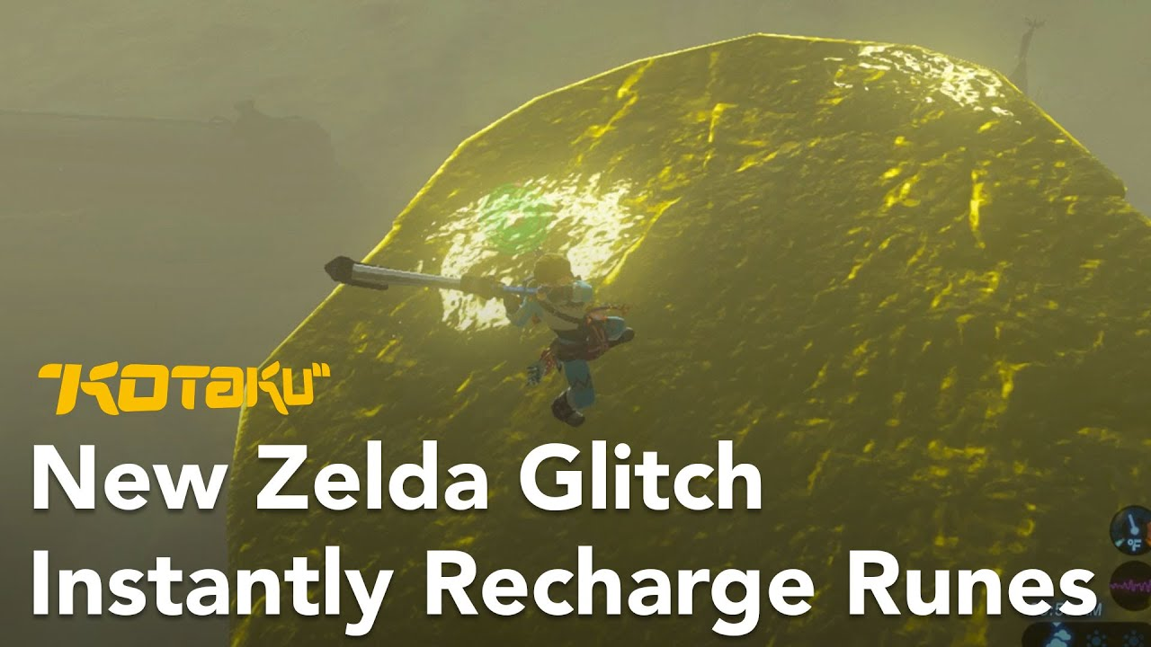 Breath of the Wild Glitch Lets Players Instantly Recharge Runes