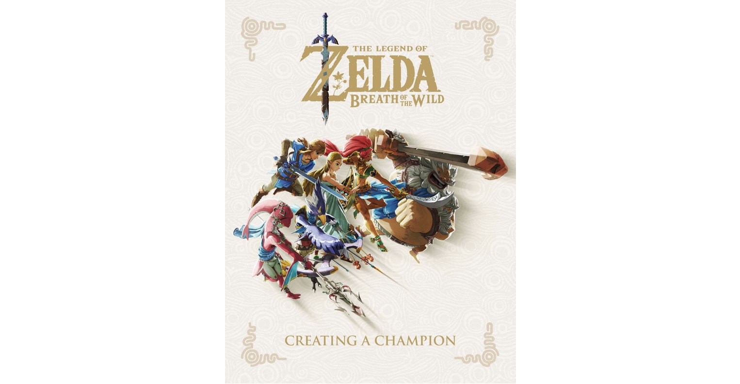 Breath of the Wild — Creating a Champion Book Releasing November 20th,  Available Now For Pre-Order