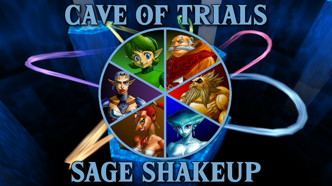 Cave of Trials 36 - The Sage Shakeup + Inspired by Zelda Week Challenge