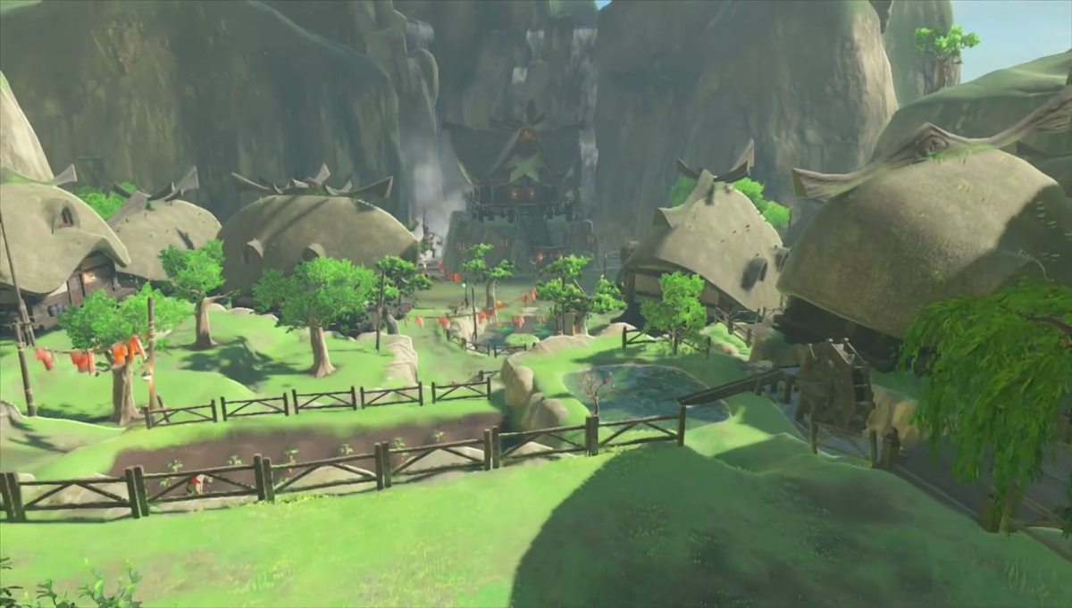 Breath Of The Wild Designers Reveal Kakariko Village And Korok Forest Were Swapped During Early Development Zelda Dungeon