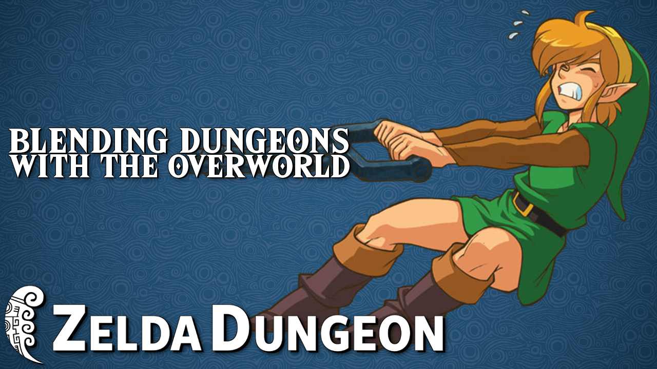 Blending Dungeons with the Overworld - Hyrule Compendium