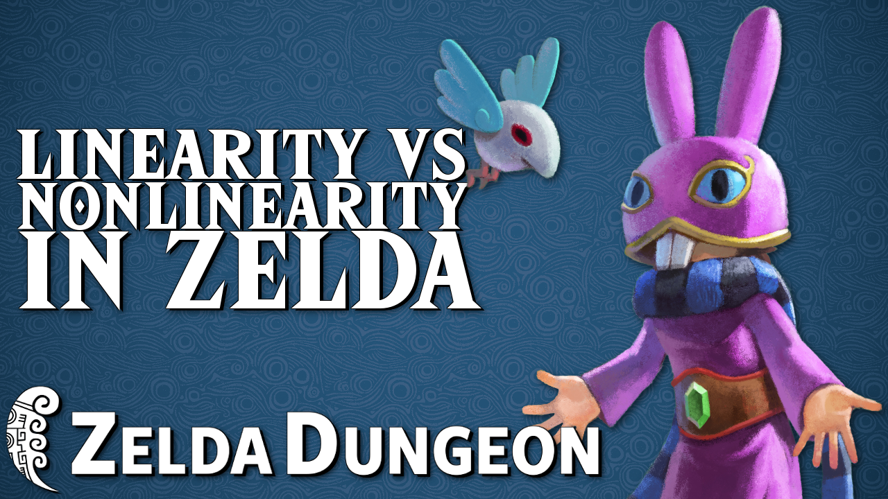 Do You Prefer More Linearity or Nonlinearity in Zelda? - Hyrule Compendium