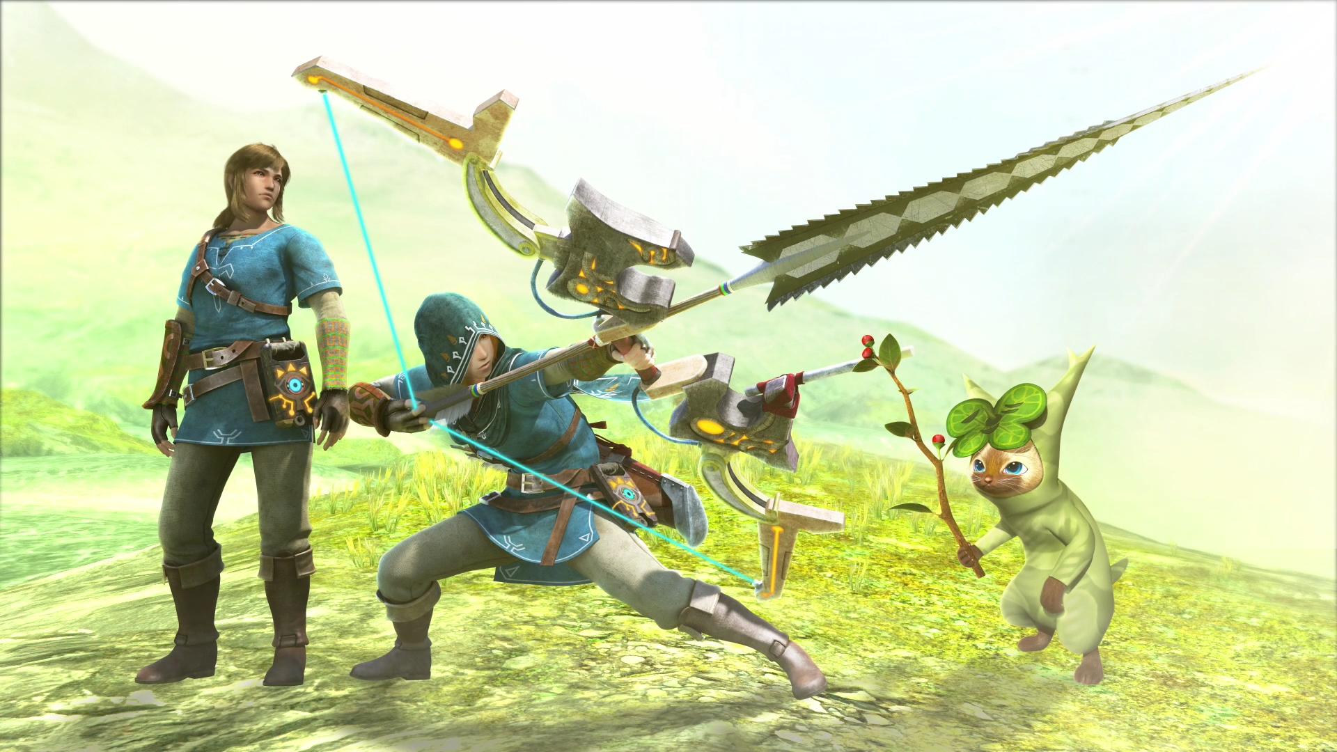 Monster Hunter Generations Ultimate Confirms All Zelda Dlc Will