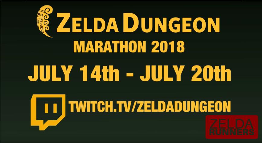 Zelda Runners Sequence Break! - Zelda Dungeon Marathon 2018