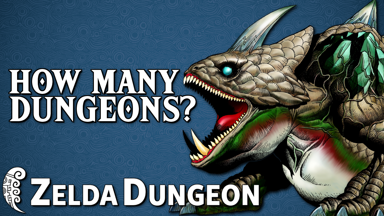 How Many Dungeons Should a Zelda Game Have? - Hyrule Compendium