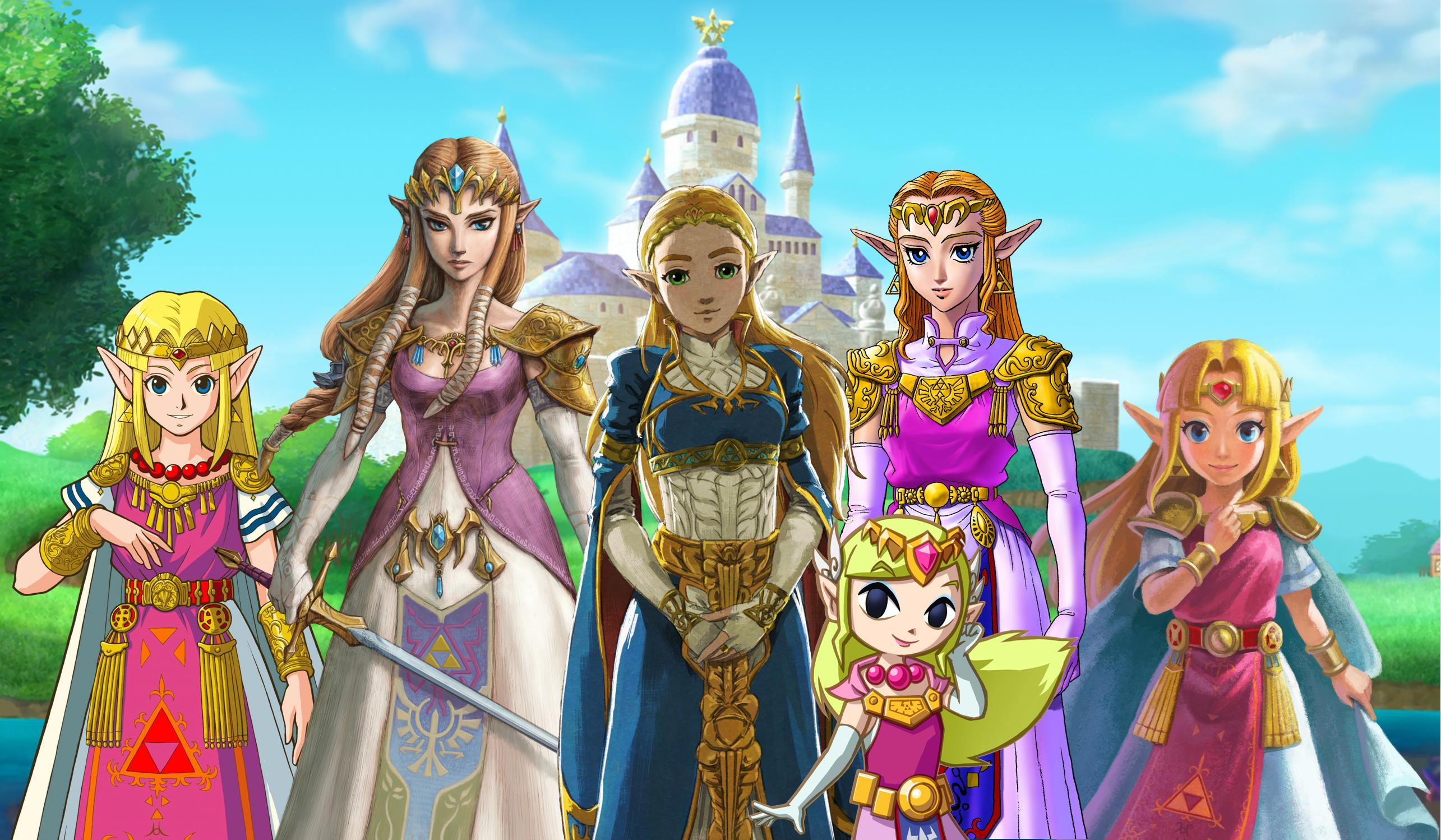 Daily Debate Which Regal Dress Design For Princess Zelda Is