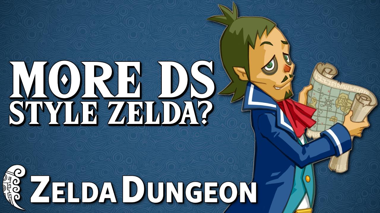 Should Nintendo Make More DS-Style Zelda Games? - Hyrule Compendium