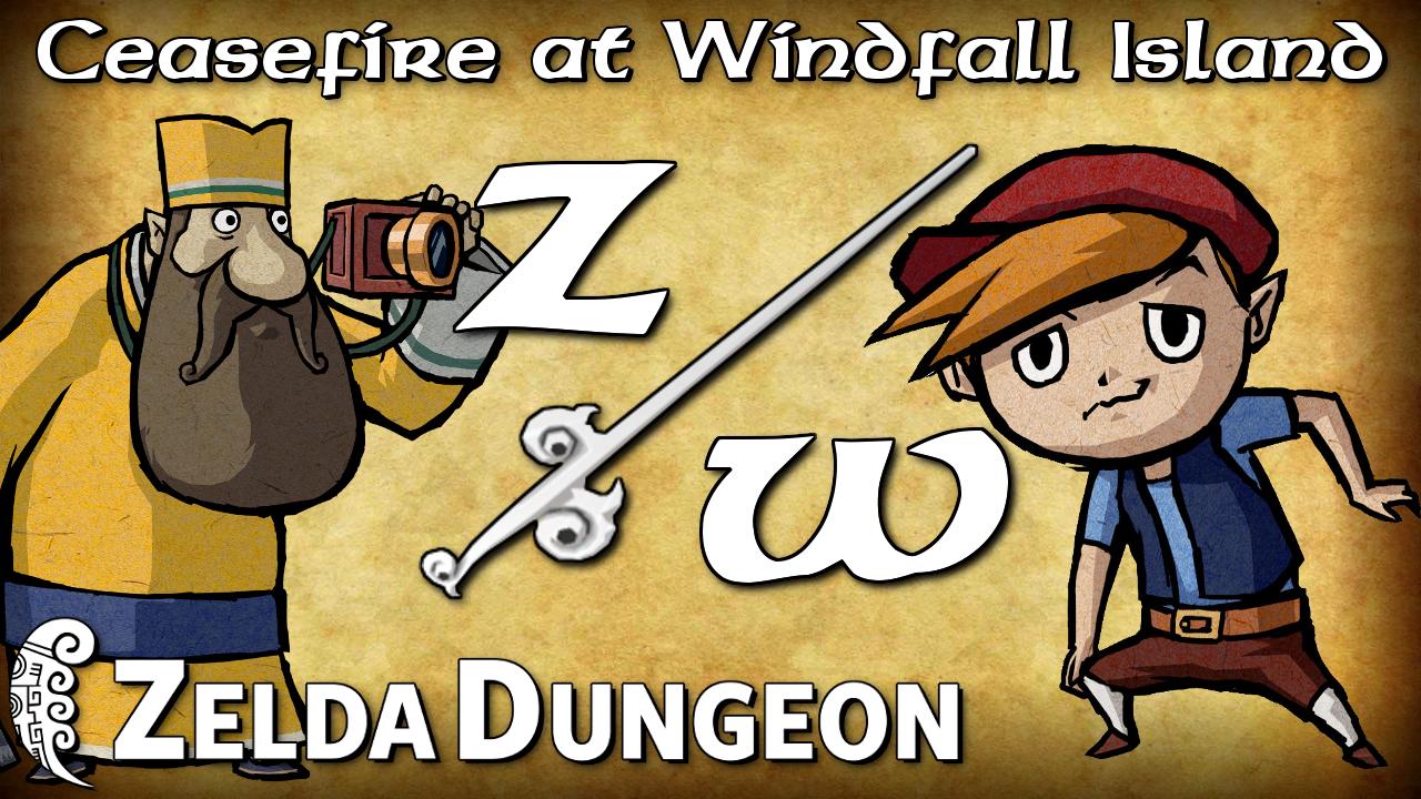 Ceasefire at Windfall Island - Zelda Warfare