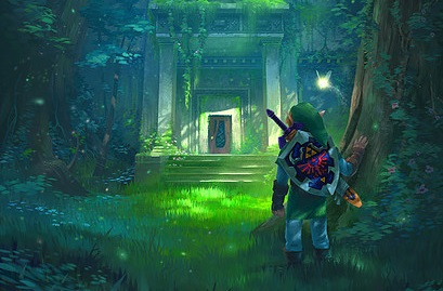 check out these stunning ocarina of time art pieces