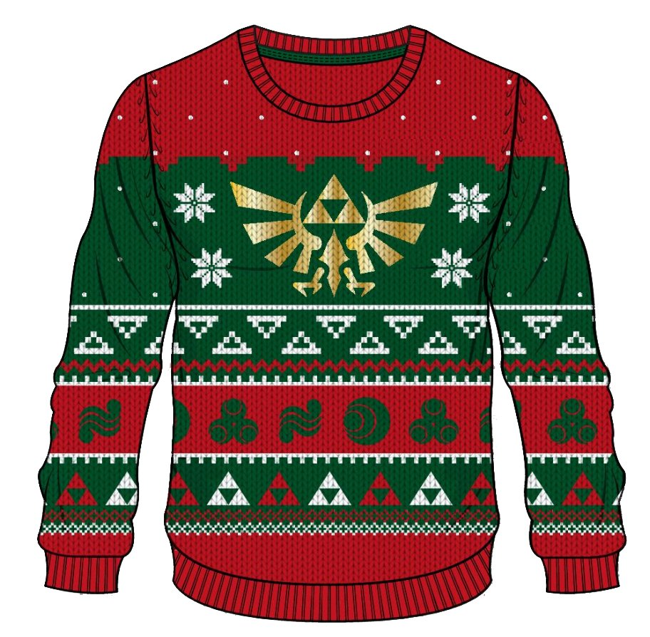Official Nintendo Christmas Sweaters Are Available to Purchase from ...