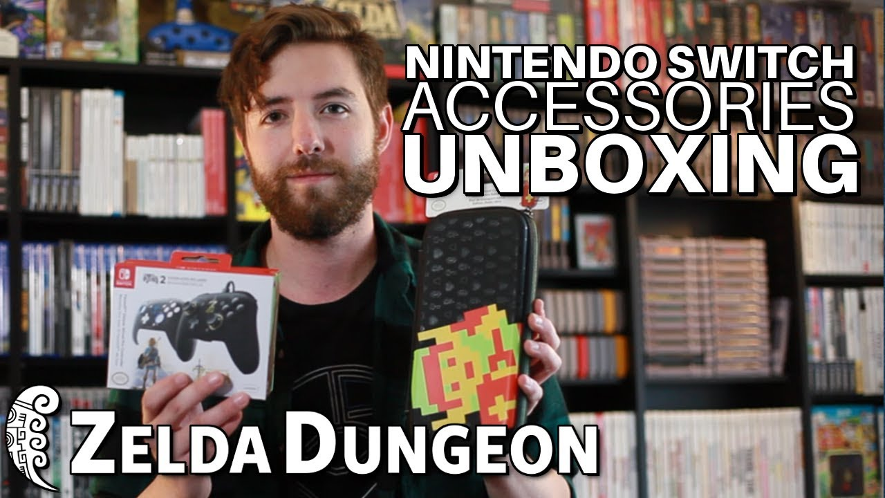 We Go Hands On With PDP's Latest Accessories for Nintendo Switch -- Video