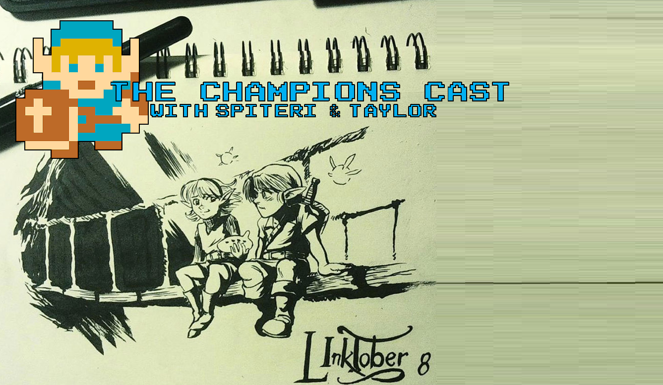 Breaking Out Our Brushes to Chat With Linktober in The Champions' Cast - Episode 29
