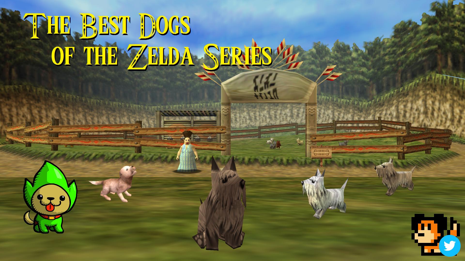 A Hero's Best Friend: The Best Dogs of the Zelda Series