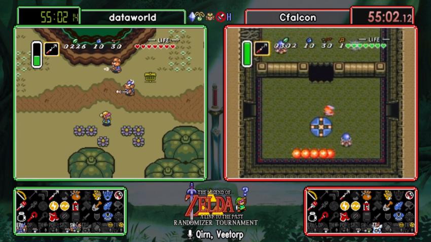Zelda Runners - Breaking Barriers - Zelda Dungeon