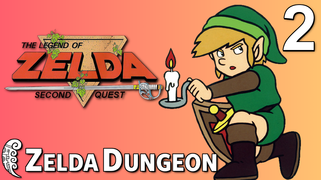 The Journey Continues in Part Two of our Let's Play of The Legend of Zelda Second Quest!