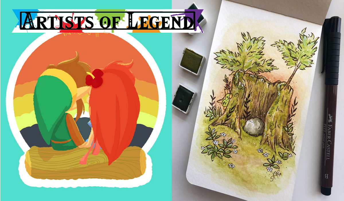 Artists of Legend: Flashbacks and Fairies