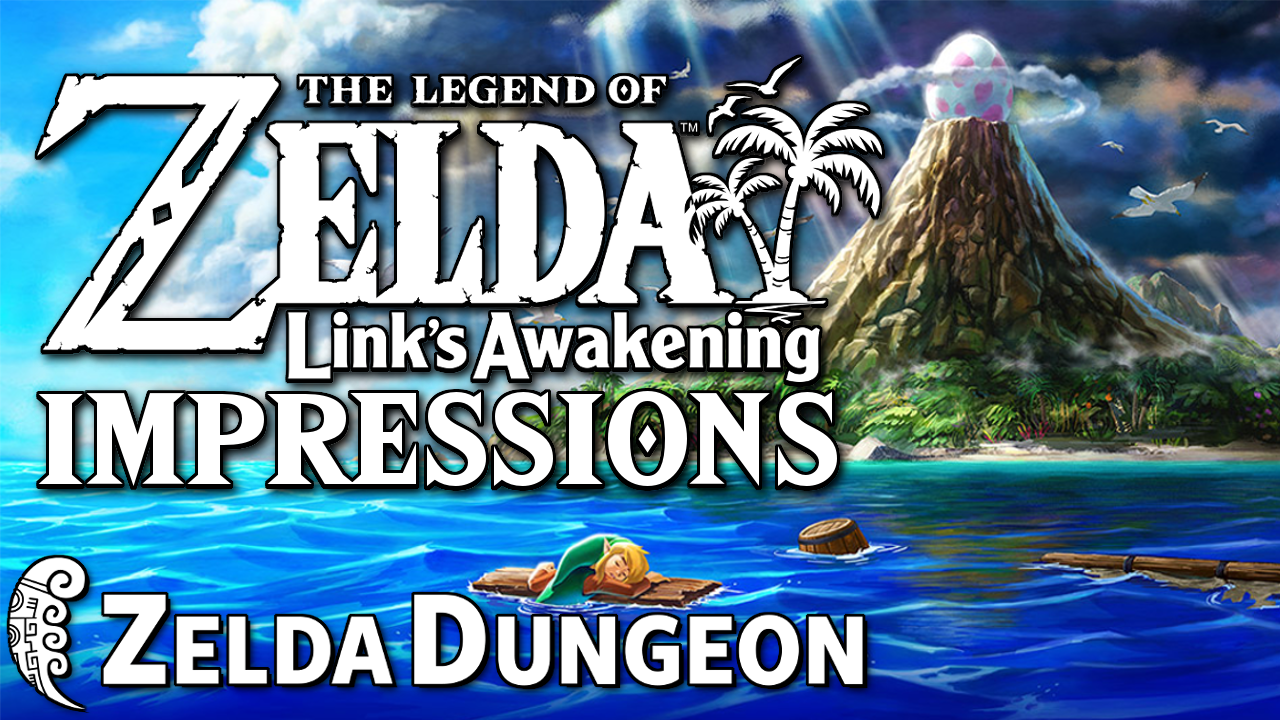 Link's Awakening for Nintendo Switch Initial Impressions - Hyrule Compendium