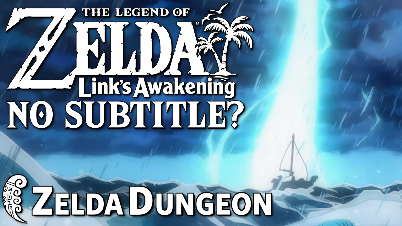 Will Link's Awakening Switch Have a Subtitle? - Hyrule Compendium