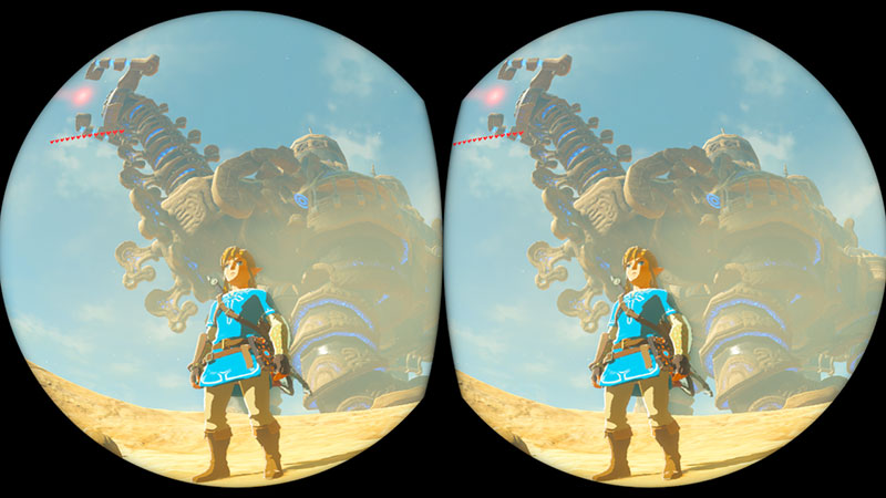 Nintendo Details VR Functionality in Breath of the Wild - Zelda Dungeon