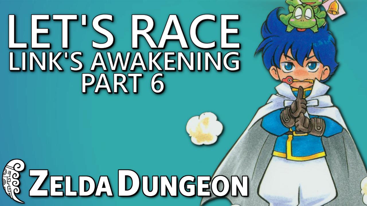 Let's Race Link's Awakening - Secret Seashells