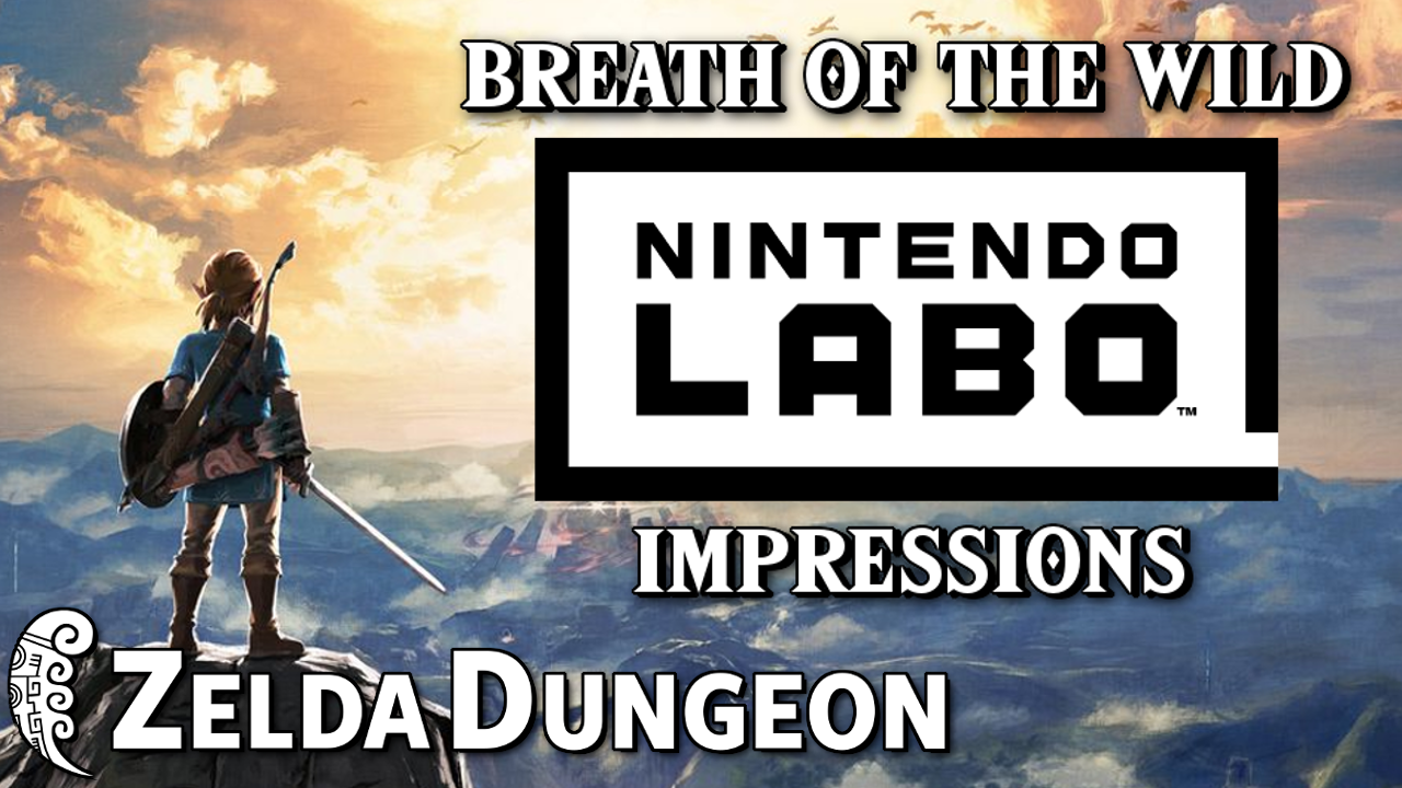 Breath of the Wild VR Initial Impressions - Hyrule Compendium