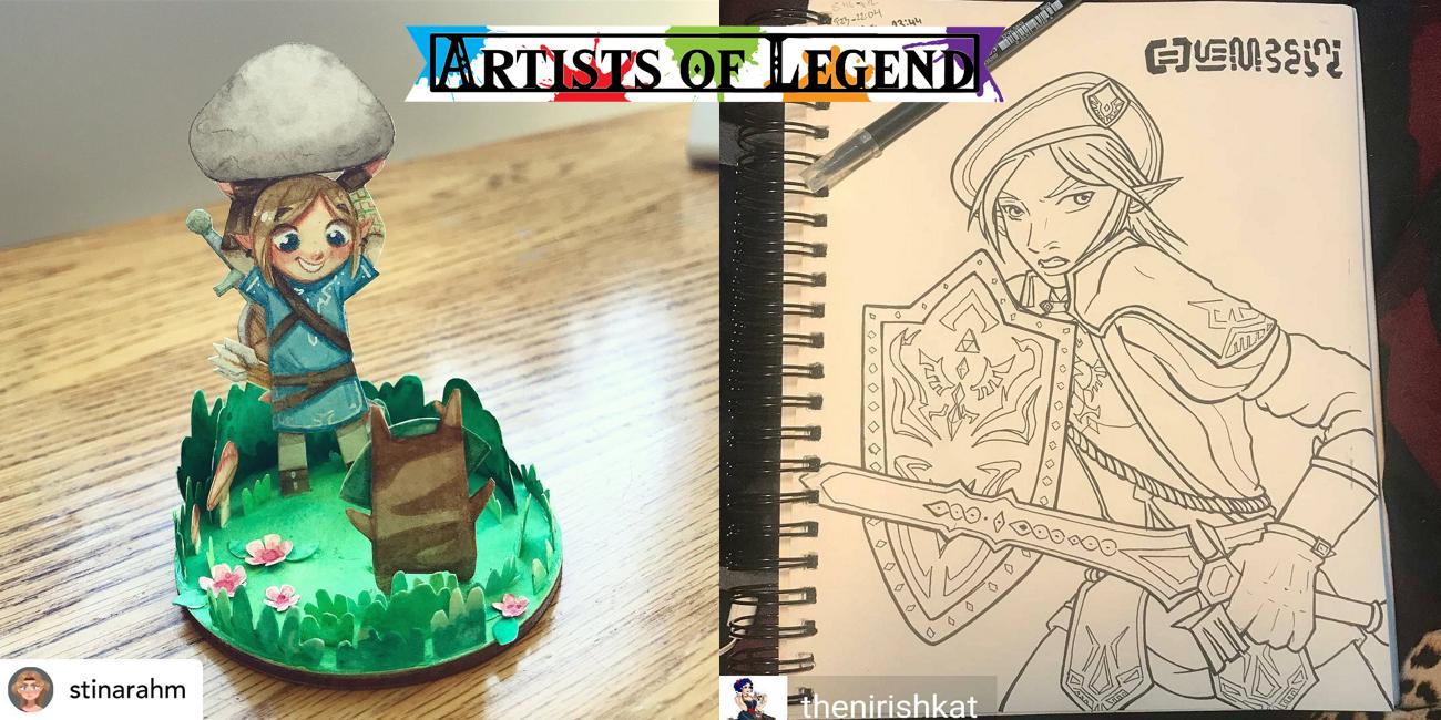 Artists of Legend: Sidequest Week