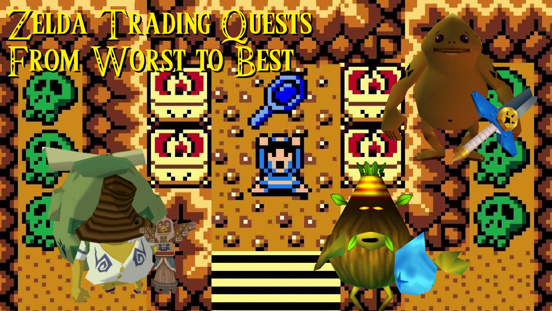 Side Quest Week: Ranking Every Zelda Series Trading Sequence Side Quest from Worst to Best