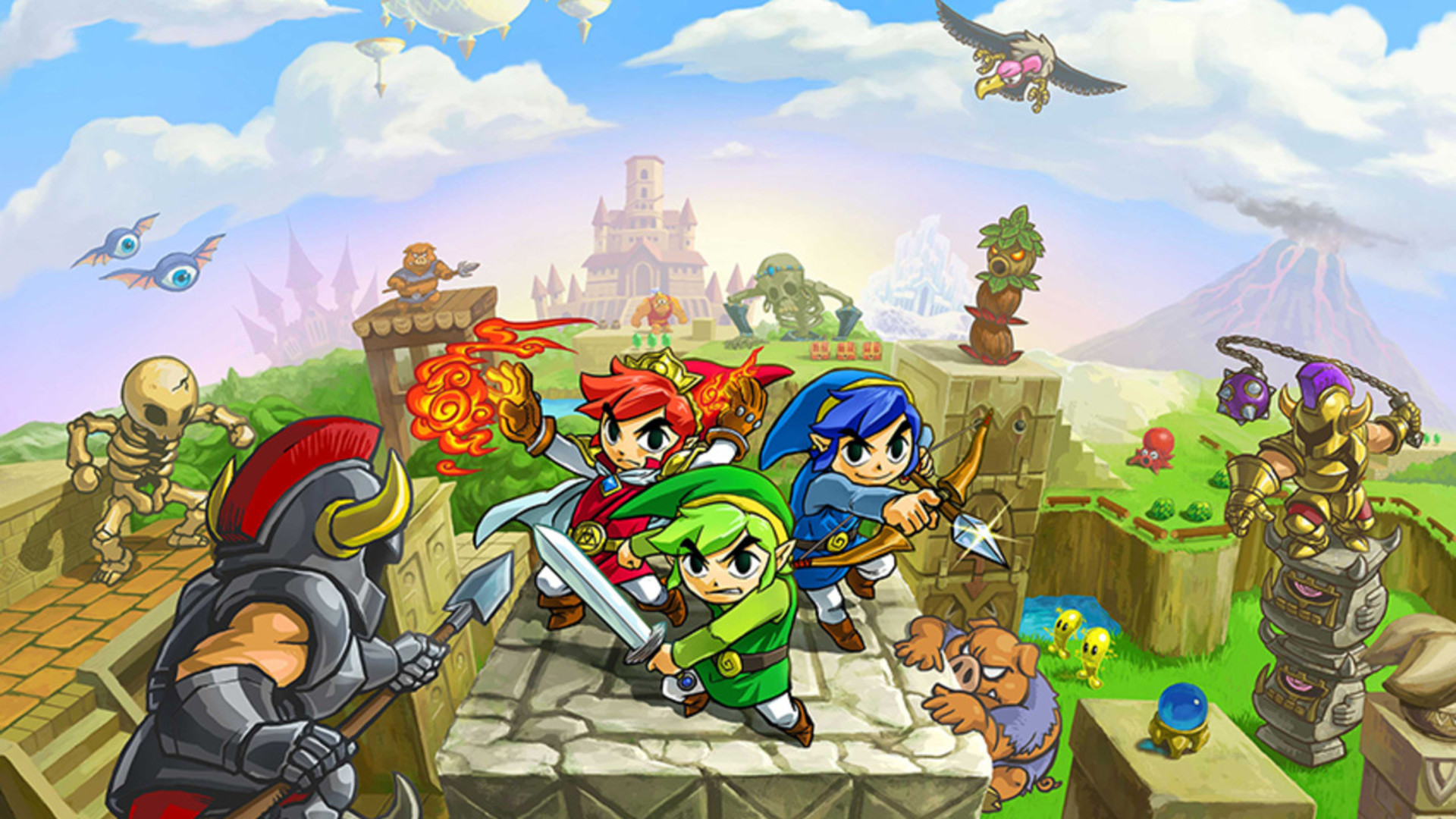 Hytopian Fables: Solving Tri Force Heroes Questionable Canon Status by Suggesting the Whole Thing was an In-Universe Fairytale