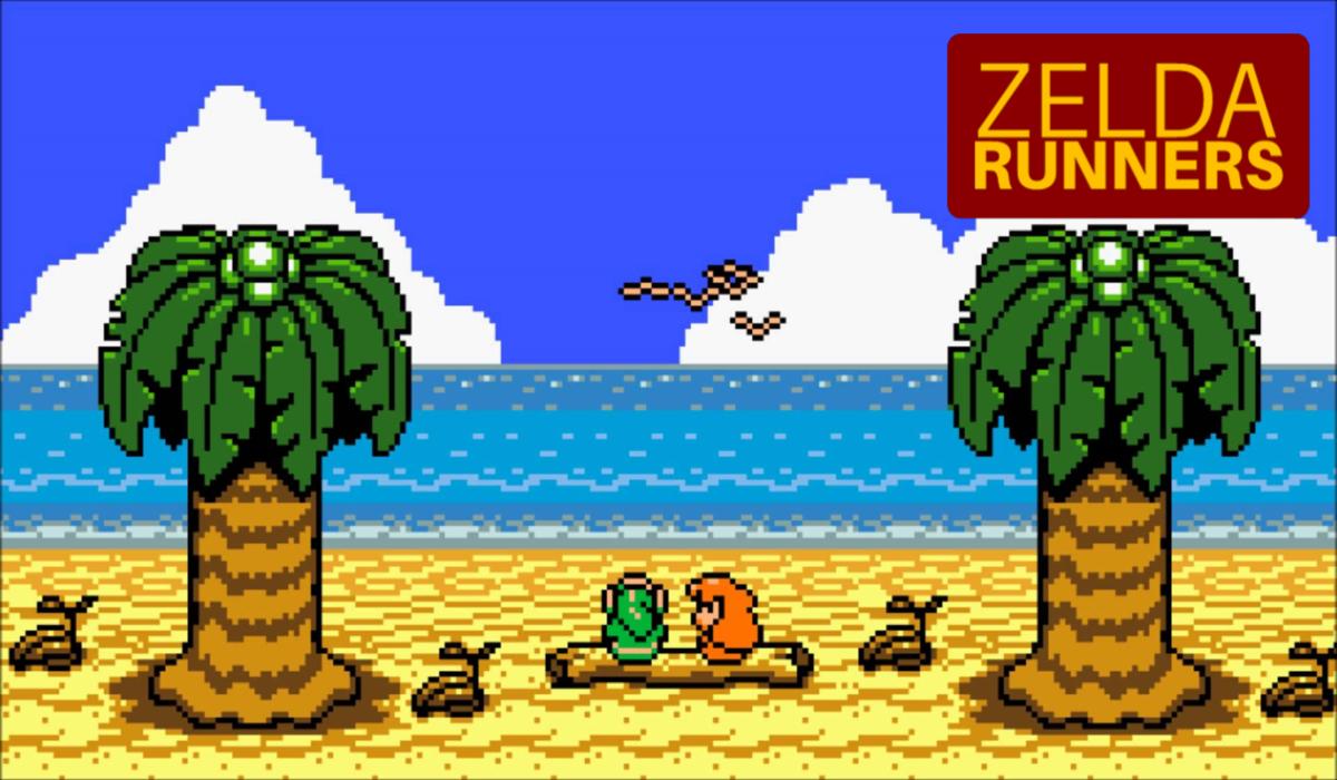 Zelda Runners - Backs Through the Wall