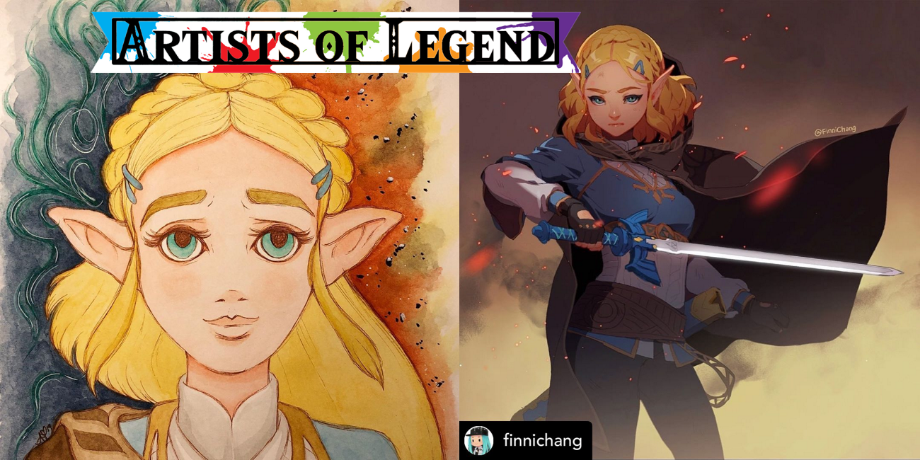 Artists of Legend: Breath of the Wild Sequel Hype Continues