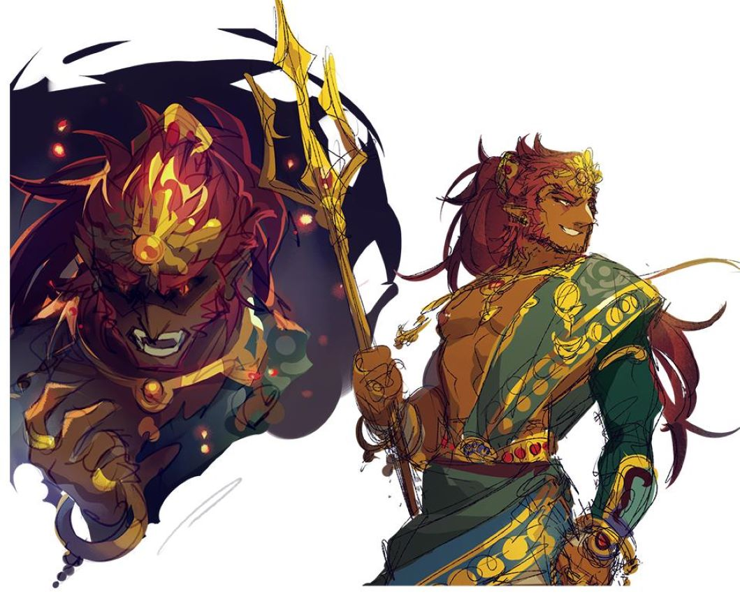 Zelda Fans Are Swooning Over Ganondorf In New Hydrated