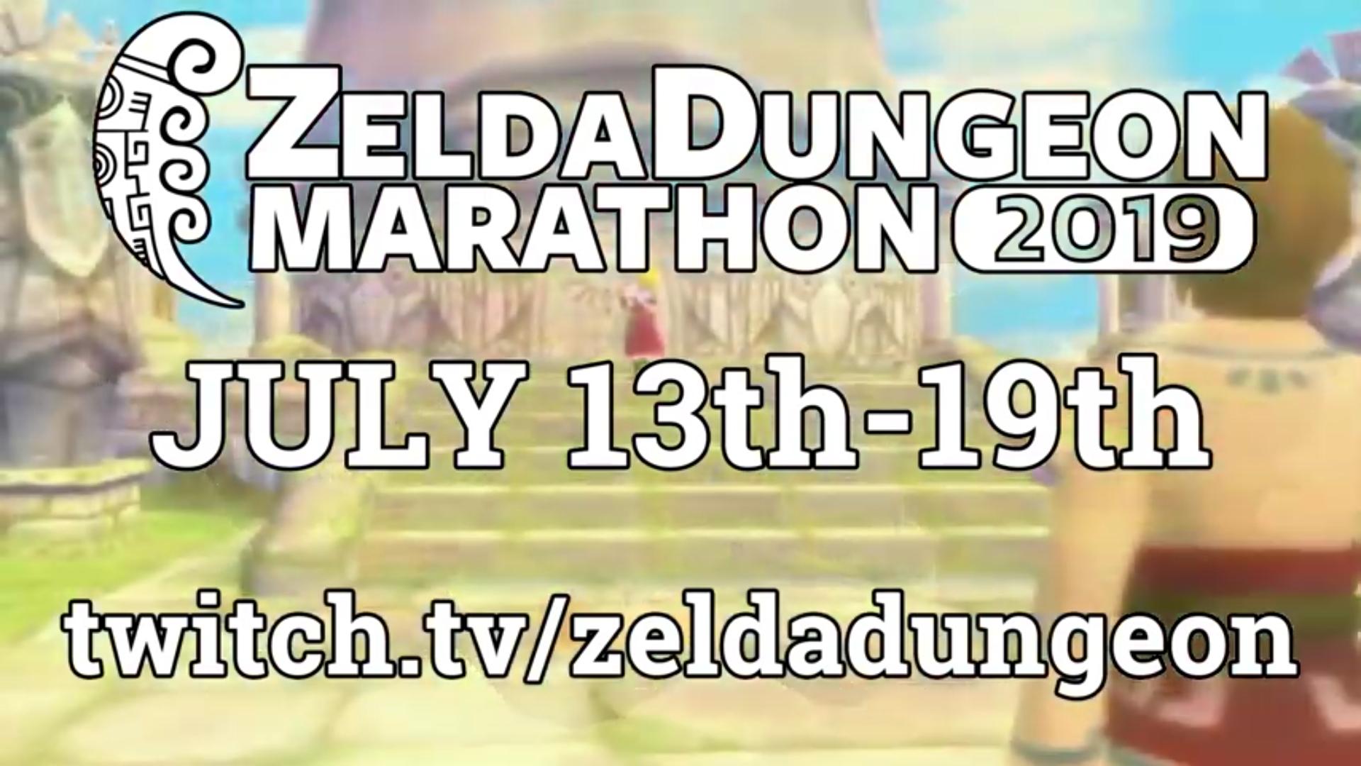 Join Zelda Dungeon July 13th-July 19th for the 2019 Zelda Dungeon Marathon!
