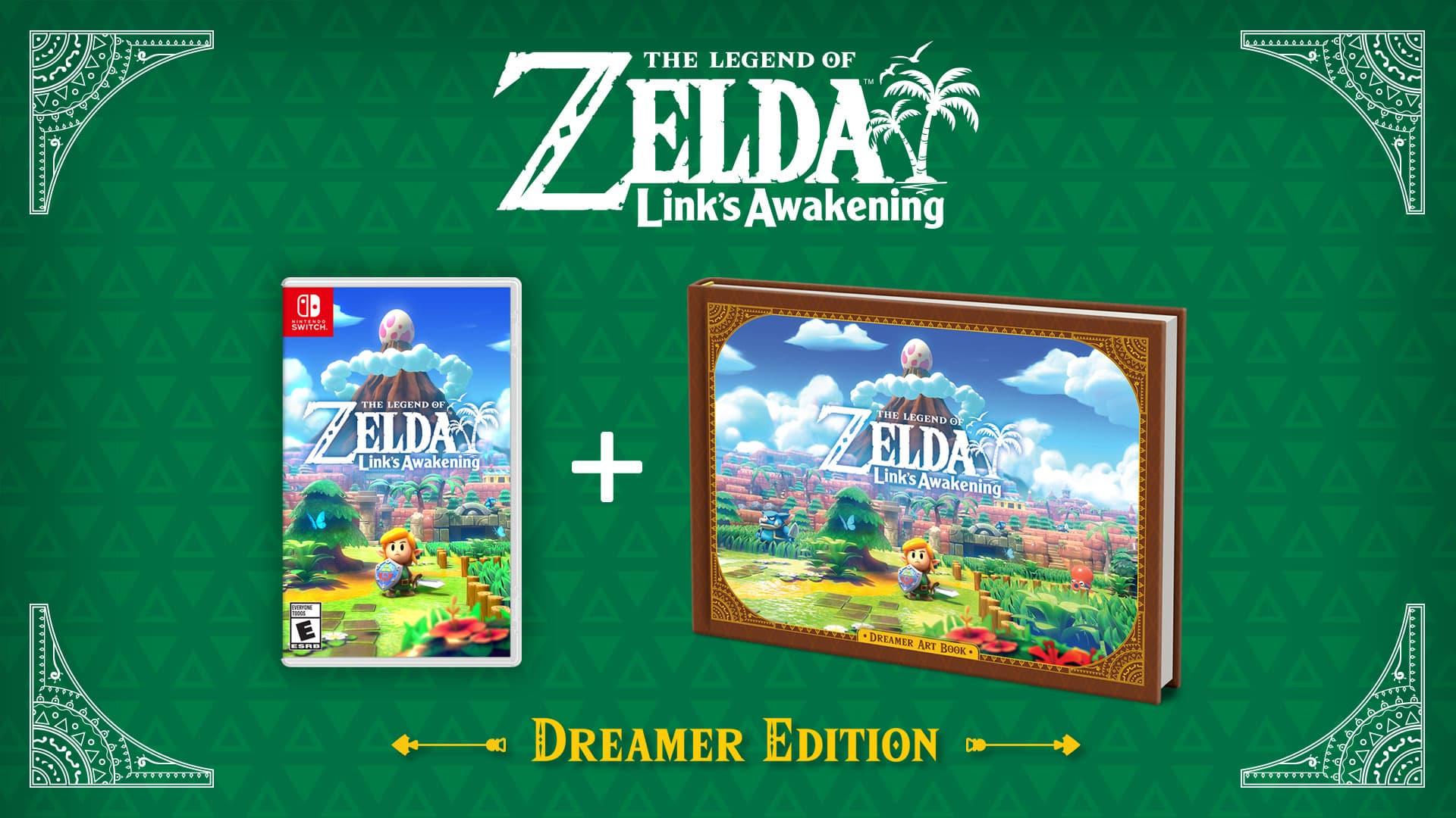 Dreamer Edition Bundle Announced For Links Awakening On Nintendo