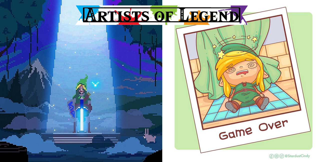 Artists of Legend: Link's Tools and Legends Training