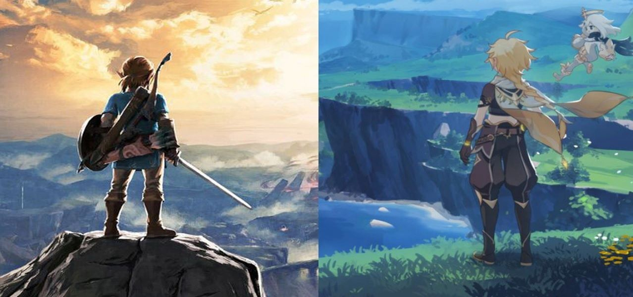 Daily Debate: Do You Think Genshin Impact Looks Similar To Breath of the Wild? - Zelda Dungeon