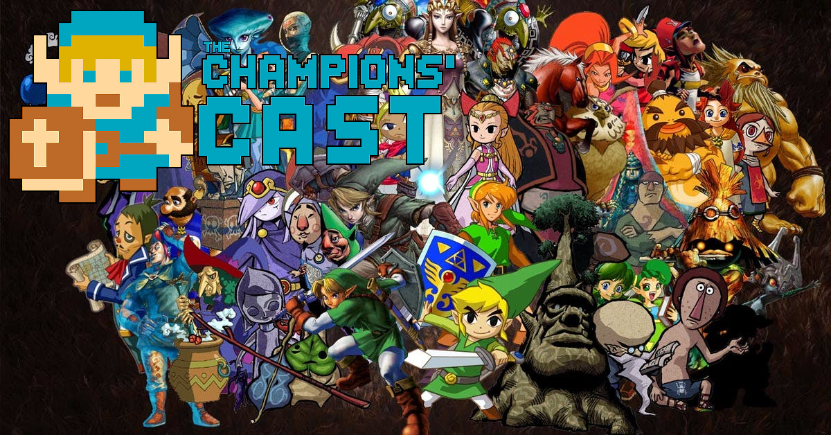 We're Playing Guess that Zelda Character in 20 Questions in The Champions' Cast - Episode 70
