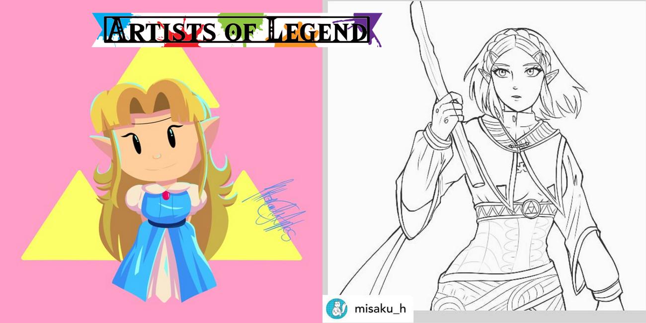 Artists of Legend: Legend of Zelda Flashbacks, Flora, and Fauna