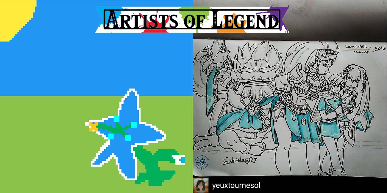 Artists of Legend: Zelda's Nature and Link's Awakening Release
