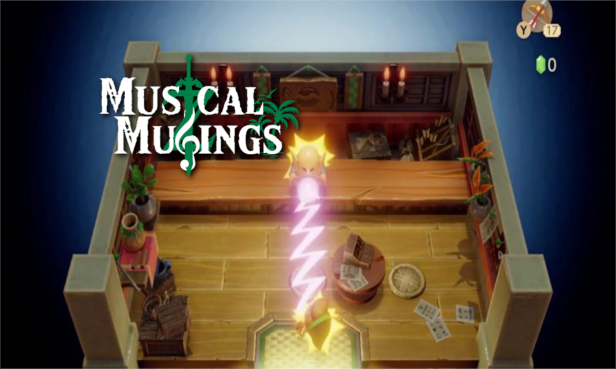 Musical Musings: Let's Compare The New Link's Awakening Shop Theme To The Original!