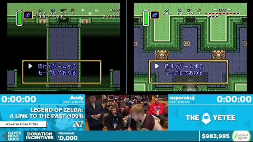 Agdq 2020 Schedule.Zelda Runners Back In The Game Zelda Dungeon