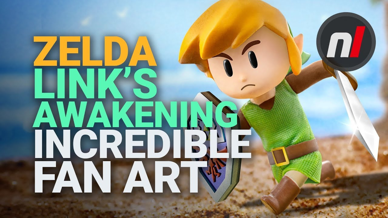 Link S Awakening Fan Art Competition Submissions Showcased