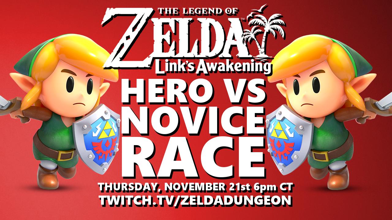 Join Us Thursday As Hero Faces Novice In Link S Awakening