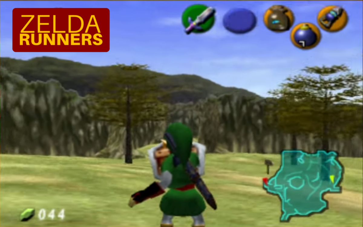 Zelda Runners - Slide to the Left!