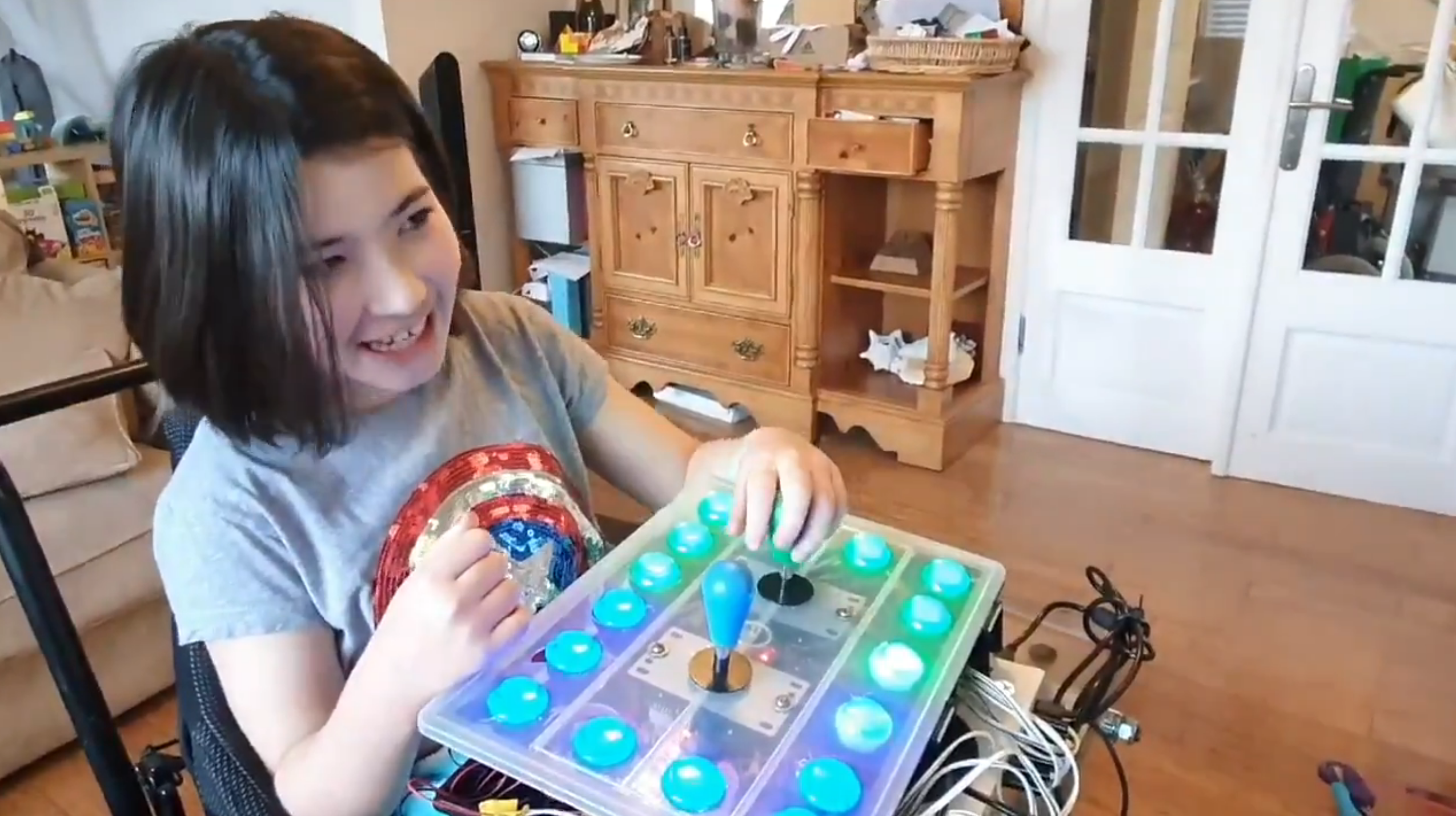 Father Builds a Special Controller So His Daughter Can Experience Breath of the Wild - Zelda Dungeon