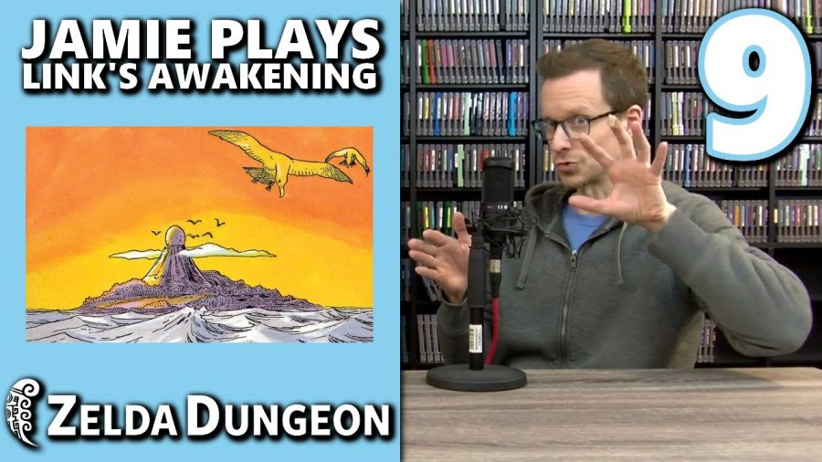 It's Time To Wake The Wind Fish in the Season Finale of Jamie Plays Link's Awakening!
