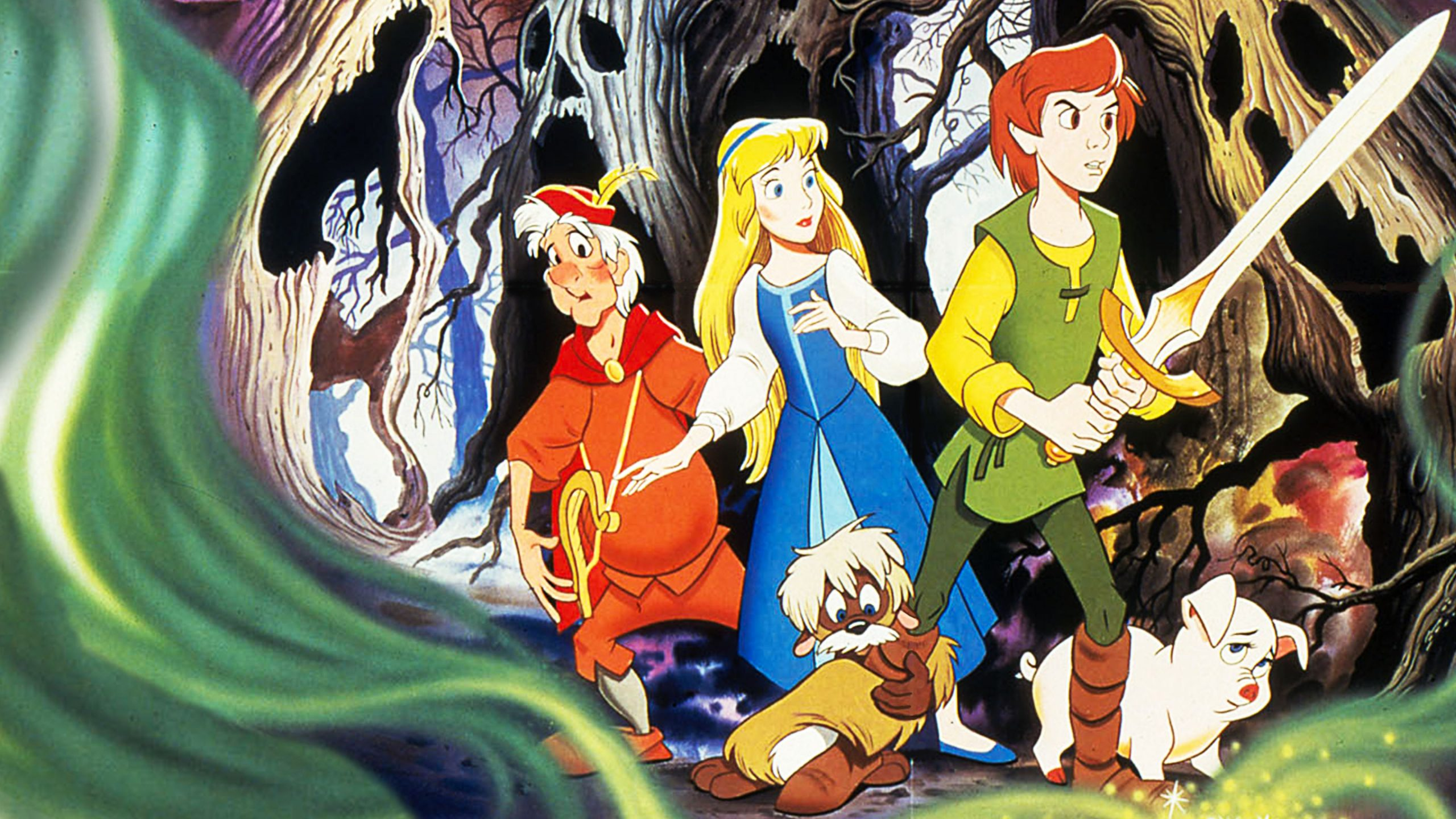 Legendary Pictures: The Parallels Between Disney's The Black Cauldron and The Legend of Zelda