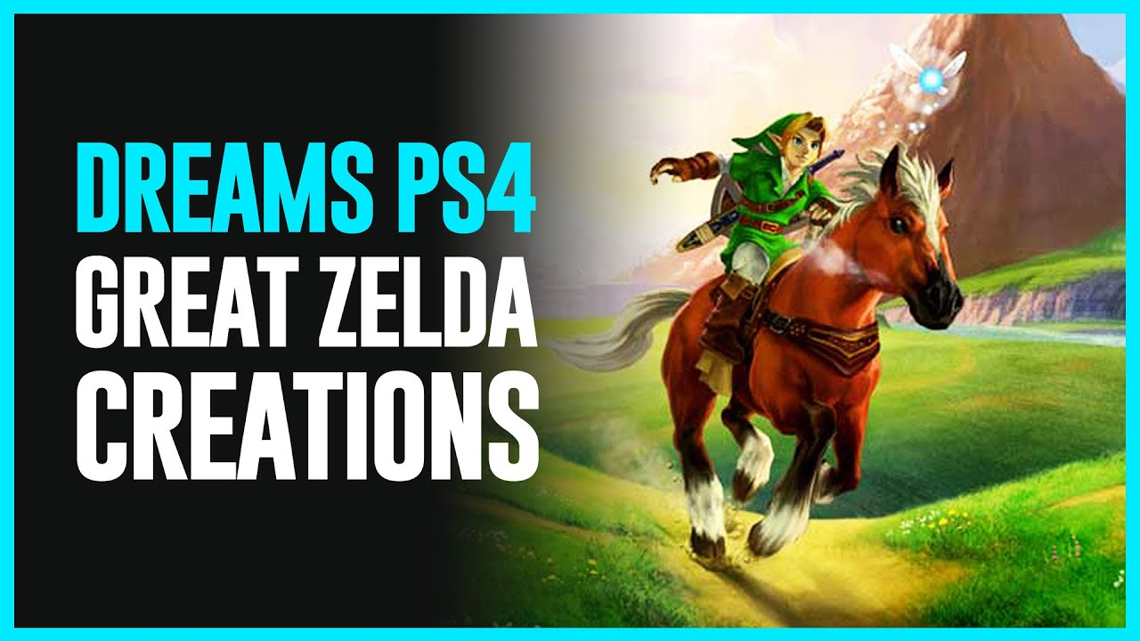 Check Out These Zelda-Based Levels Made in New PlayStation 4 Game Dreams - Zelda Dungeon