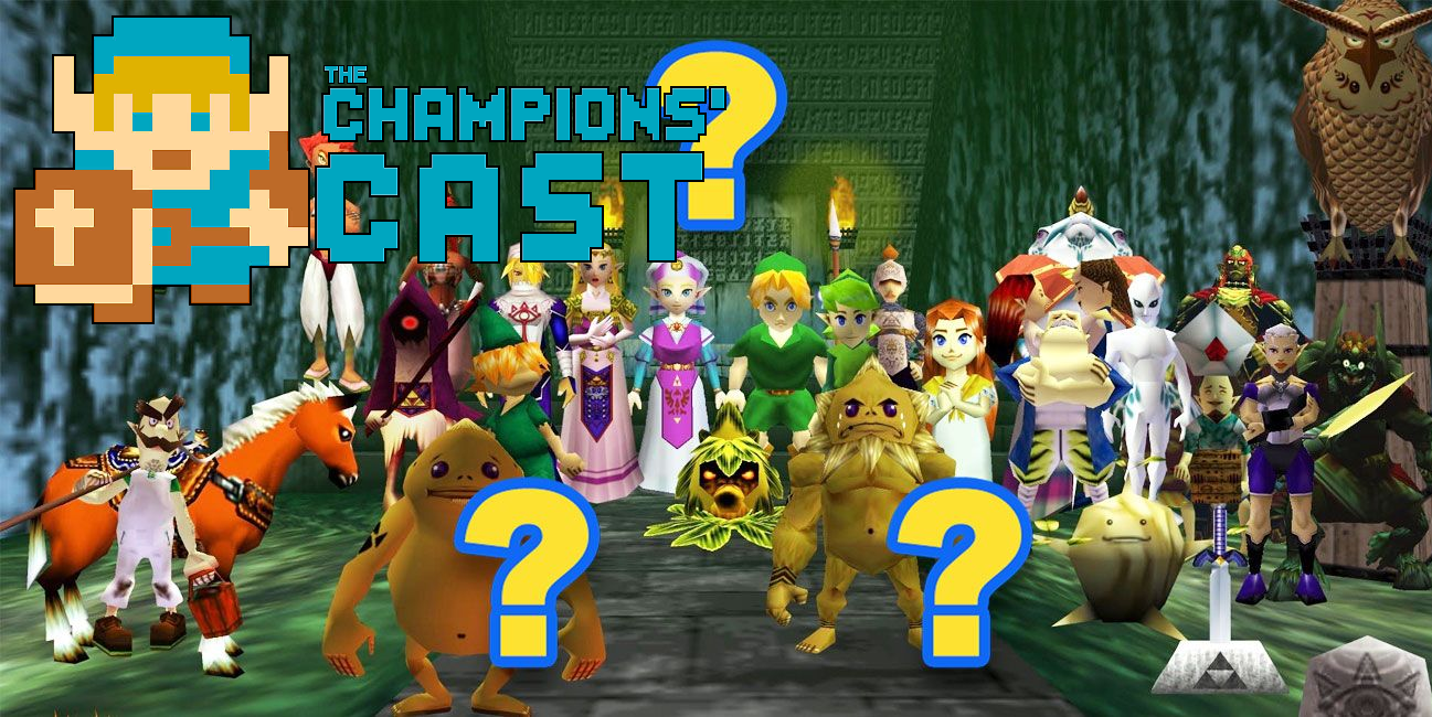 Guess That Zelda Character in 16 Questions Returns in The Champions' Cast - Episode 96!